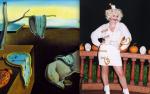 Salvador Dalí's The Persistence of Memory Comes to Life as Salvador Dolly Parton