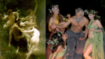 Satyr & Nymphs Painting Comes to Life