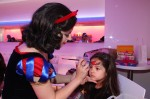 Snow White face painting