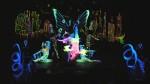 Spectacular Blacklight Performance Ensemble