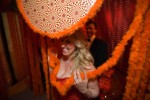 Beaux Arts Tickled Orange Chamber at SF Veterans building
