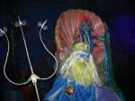 Wise-cracking comic mermaid Poseidon and Amphitricha