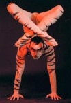 body paint contortion