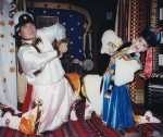 Mongolian dancers