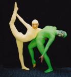 Acrobatic contortion