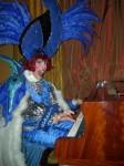 Blu pianist