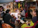 Artists working in the Velocity Studio