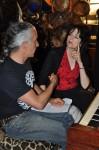 Gregangelo & Rita Abrams Writing a Show Together