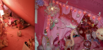 Before & After -Detail of Pink Room-