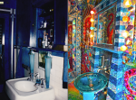 Before & After -Detail of Waters of the World Room-