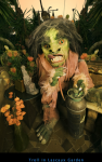 Troll in Lascaux Garden
