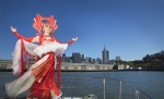 Goldie Bridgets: Guardian of the Bay -City Skyline of San Francisco-