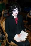 Edgar reading Poe