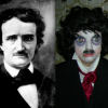 Re-Creation of Edgar Allan Poe based on Photo of Edgar Allan Poe