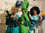 Paparazzi characters at NetSuite Hairball Awards