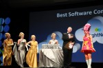 NetSuite Hairball Awards Ceremony with Gold, Platinum & Pink Characters