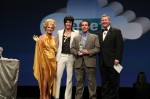NetSuite Hairball Awards Ceremony with CFO as John Travolta & Gold Lady
