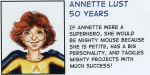 Annette Lust 50 years