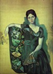 Picasso -Portrait of Olga in the Armchair-