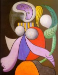 Picasso -Woman with a Flower-
