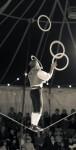 Slack rope & juggling