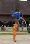 V-Troupe youth acrobatics...