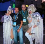 MaGaga & Lady Gaagaa with fans
