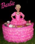 Strolling Table: Princess Barbie