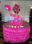 Strolling Table: Pink Flower Fantasy