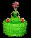 Strolling Table: Festive Green