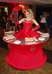 Strolling Table: Monlin Rouge