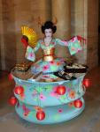 Strolling Table: Blue Geisha