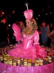 Strolling Table: Pink Cupcake