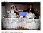 Strolling Table: Wedding Cake New York Times, Wedding Section