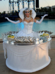 Strolling Table: Oyster Lady