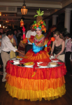 Strolling Table: Carmen Miranda