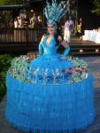 Strolling Table: Blu Goddess