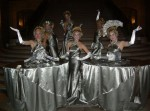 Platinum table dress ladies