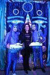 Kaleidoscope-3D Blacklight Labyrinth attendants