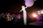 Aerial Balloon-Titan aerialist has landed