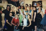 A casual ensemble photo following a performance at the Miss India:Universe:World pageant 2002