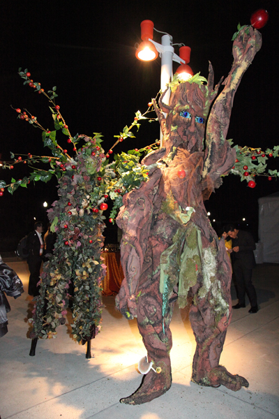 Apple Trees made for Apple computer event