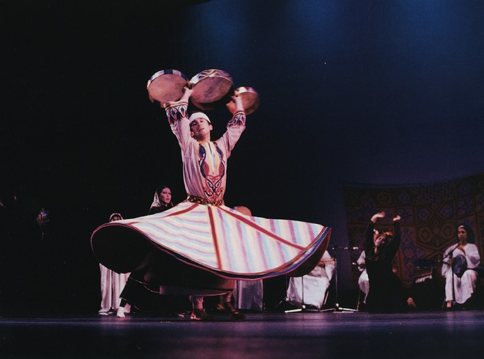 Whirling dervish, Gregangelo Early Years