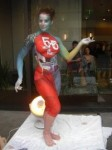 Body Painting Attraction for the Opening of Parc 55 Wyndham Union Square Hotel, a luxurious San Francisco property