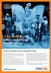 Print Ad for ING