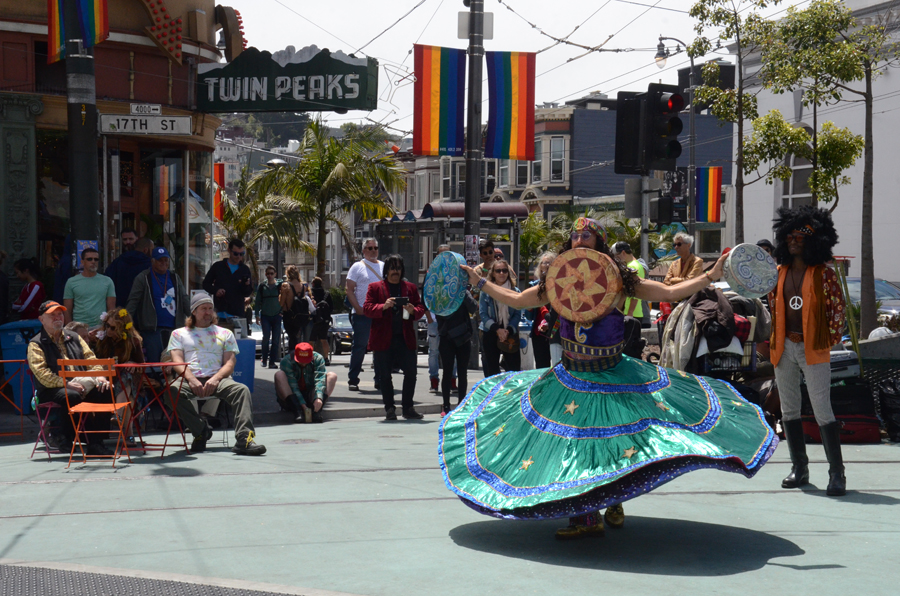 Summer of Love Dervish at Castro