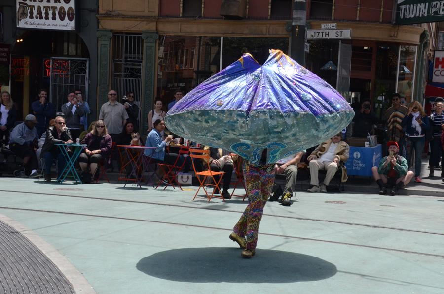 Summer of Love Dervish at Castro