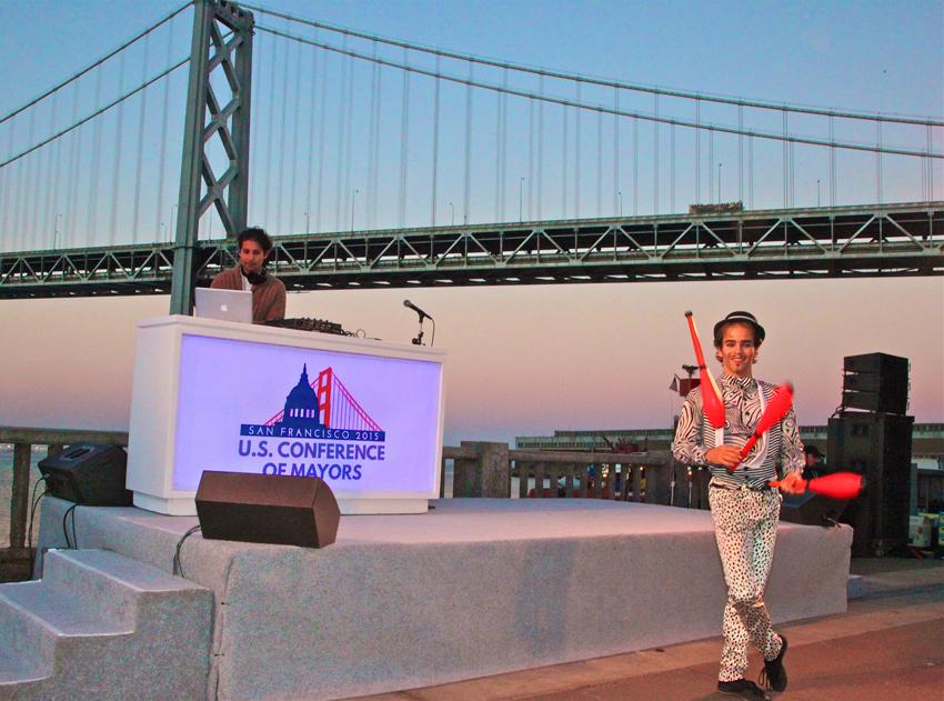San Francisco Juggler