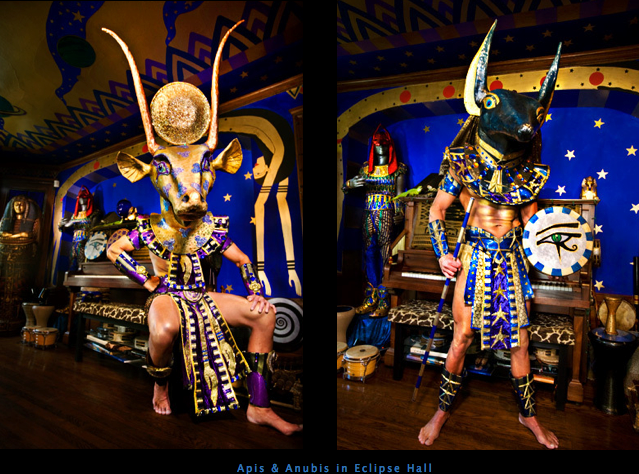 Apis & Anubis in Eclipse Hall