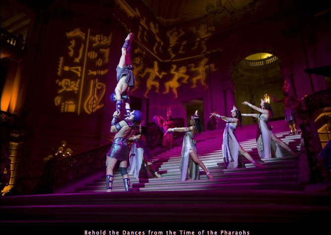 Behold the Dance from the Time of the Pharaohs